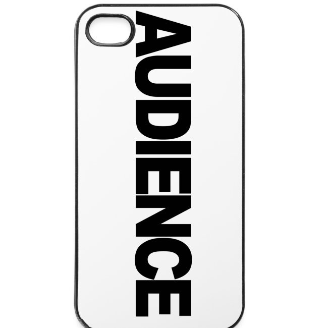 AUDIENCE iPhone Case (iPhone 4 and 4S)