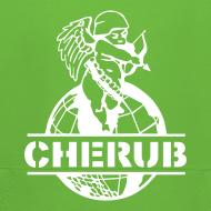 Design ~ Cherub Campus Green Kids Hoodie
