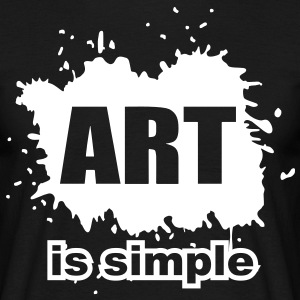 art is simple T-Shirts - Männer T-Shirt