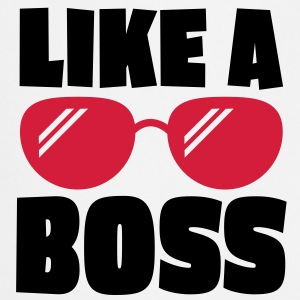 like a boss 2c  Aprons - Cooking Apron