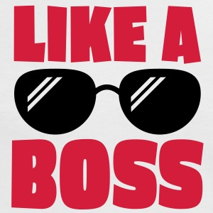 like a boss 2c T-Shirts - Frauen Kontrast-T-Shirt