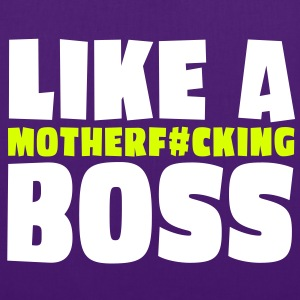 like a motherfcking boss 2c Tassen - Tas van stof