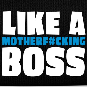 like a motherfcking boss 2c Caps & Mützen - Wintermütze