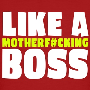 like a motherfcking boss 2c T-skjorter - Økologisk T-skjorte for menn