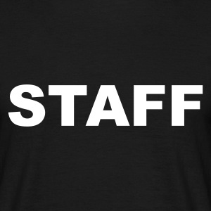 Black Staff Men's Tees - Men's T-Shirt