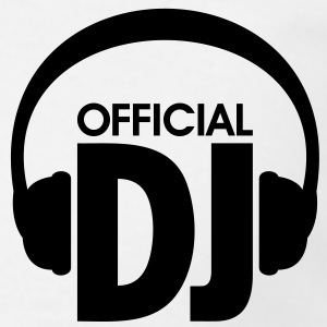 Official DJ at work headphones Kopfhörer T-Shirts - Männer T-Shirt