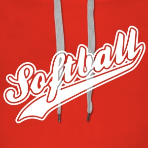 softball Hoodies & Sweatshirts - Women's Premium Hoodie