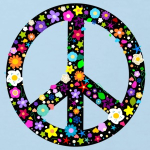 Flower Peace Sign Shirts - Kids' Organic T-shirt