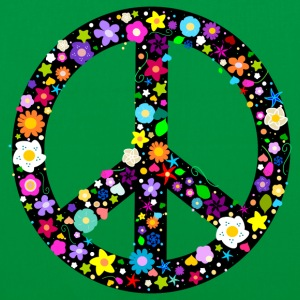 Flower Peace Sign Bags  - Tote Bag