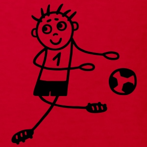 Footballer No. 1 Shirts - Kids' Organic T-shirt
