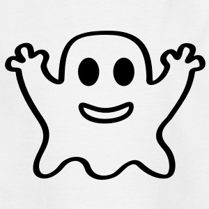 kleiner Geist Gespenst Halloween Horror Grusel  T-Shirts - Teenager T-Shirt