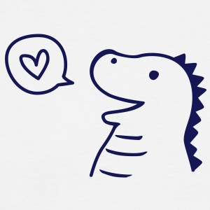 Cute Dino T-shirts - Herre-T-shirt