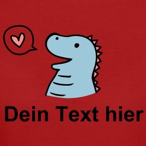 Cute Dino T-shirts - Organic damer