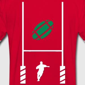 essai rugby 2 Tee shirts - T-shirt contraste Homme