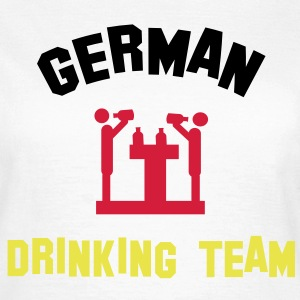 german drinking team T-Shirts - Frauen T-Shirt