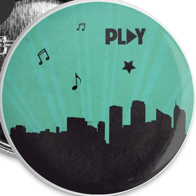 Chapa ciudad Play verde