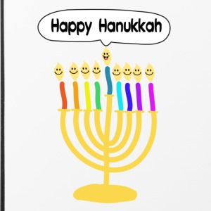 Happy Hanukkah cute cartoon smiley menorah Other - iPhone 4/4s Hard Case
