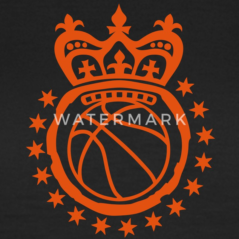 Star basketball crown crown logo ki - Women's T-Shirt