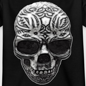 Skull Ornament | Teenager Shirt - Teenager T-Shirt