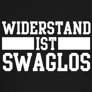 widerstand ist swaglos T-Shirts - Men's Ringer Shirt