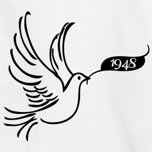 Peace dove with year 1948 Shirts - Kids' T-Shirt
