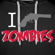 Diseño ~ I shot zombies sudadera chico