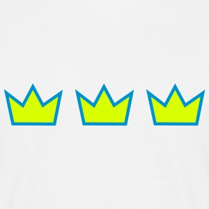 Three crowns - T-shirt herr