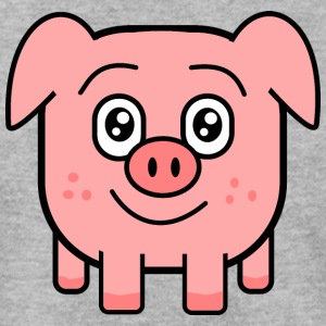 square pig Hoodies & Sweatshirts - Men's Sweatshirt