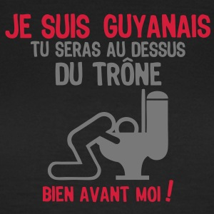 guyanais alcool vomit toilette trone wc Tee shirts - T-shirt Femme
