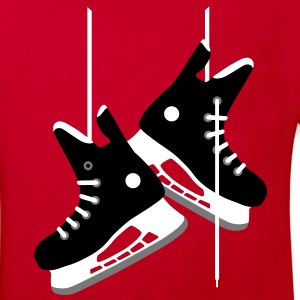 Ice hockey skates Shirts - Kids' Organic T-shirt