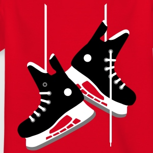 Ice hockey skates Shirts - Teenage T-shirt