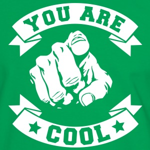 YOU ARE COOL T-shirts - Herre kontrast-T-shirt
