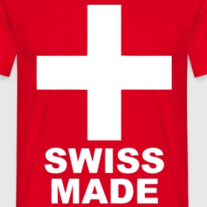 swiss made design Tee shirts - T-shirt Homme