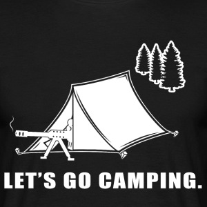 Lets Go Camping T-Shirts - Men's T-Shirt