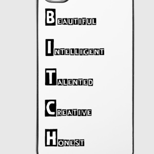 B.I.T.C.H Overig - iPhone 4/4s hard case