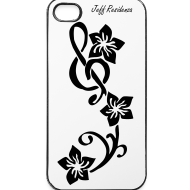 Ontwerp ~ I-phone 4/4S cover: Jeff Residenza - Music flower