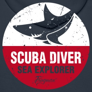 scuba_diver_sea_explorer Sweat-shirts - Sweat-shirt à capuche Premium pour hommes