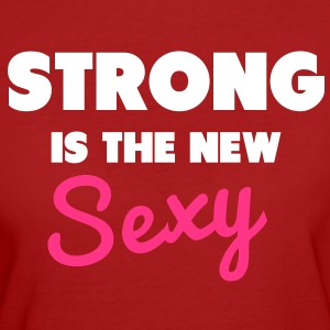 Strong Is the New Sexy Camisetas - Camiseta ecológica mujer