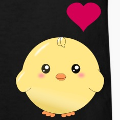 Cute yellow chick and heart Shirts