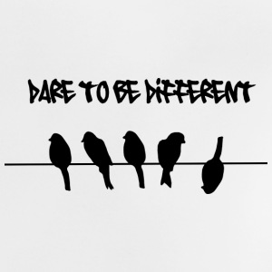 Dare to be Different Birds on a wire Shirts - Baby T-Shirt