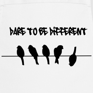Dare to be Different Birds on a wire  Aprons - Cooking Apron
