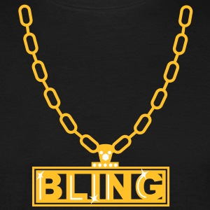 necklace bling ketting T-shirts - Mannen T-shirt
