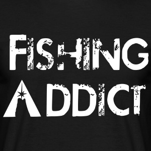 Fishing addict Tee shirts - T-shirt Homme