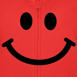 Happy Smiley Face Hoodies - Kids' Premium Zip Hoodie