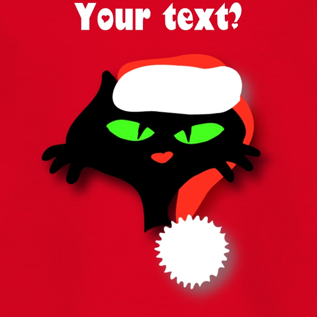 Silly Christmas Cat