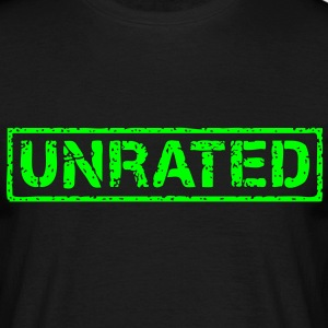 unrated T-Shirts - Männer T-Shirt