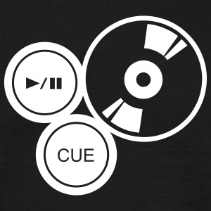 turntable T-shirts - Mannen T-shirt