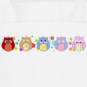 Cute Owls and flowers  Aprons - Cooking Apron