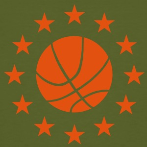 Basketball & Stars T-Shirts - Men's Organic T-shirt