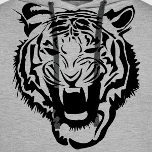 Tigre Tiger Sweat-shirts - Sweat-shirt à capuche Premium pour hommes